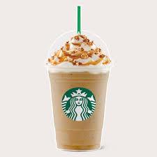 Caramel Popcorn Coffee Frappuccino With Starbucks Light