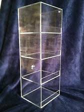 Acrylic Display Case 6 X 6x 19 Tall Convenience Store Counter Top