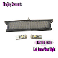 one set led interior car led light source dome roof reading l