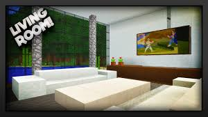 Minecraft Pe Living Room Designs by Minecraft How To Make A Living Room Youtube
