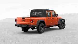 100 Truck Jeep 2020 Gladiator Pickup Configurator Is Live See All The