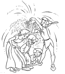 Peter Pan Coloring Pages Awesome Tinkerbell With Printable