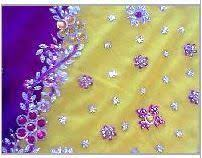 Hand Embroidered Sarees In Howrah