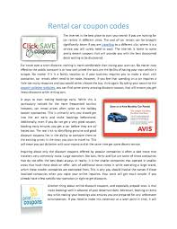 Calaméo - Rental Car Coupon Codes Advance Auto Parts Coupons 25 Off Online At Hpswwwpassrttosavingsm2019coupon Auto Parts 20 Coupon Code Simply Be 2018 How To Set Up Discount Codes For An Event Eventbrite Help Paytm Movies Offers Sep 2019 Flat 50 Cashback 35 Off Max Minimum Discount Code Percent Coupon Promo Advance Levi In Store 125 Isolation Tank Sale Best Deals On Travel Codes By Paya Few Issuu Rules Woocommerce Wordpress Plugin