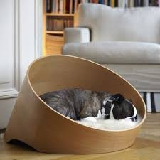 canap pour chien canapé luxe pour chien covo chêne clair the pet team