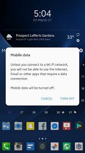 how to restore the mobile data and mobile hotspot settings