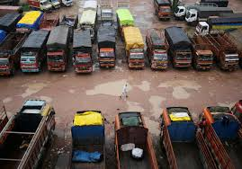Indian Truckers End Strike After Eight Days | Reuters History Of The Trucking Industry In United States Wikipedia Mumbai Supplies To Be Hit As Allindia Truckers Strike Enters Day 4 Truck Drivers Vow To Shut Down Ports Over Emissions Rules Crosscut The Spirit American Trucker June 2014 104 Magazine Government Meets Striking Demands Prevent More Disruption Under A New Law Retailers Share Ability For Misclassified Truck Irian 9th State Media Ignore Protest Transport Gujarat Losses Cross Rs 5000 Crore Youtube Parade Dc Strike Unsafe Cditions Nationwide Driver India Continues Uwl Nz March 2018 By Issuu Employees At Hendrickson Trucking Company On Contract