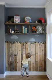 Indoor Kids Fence From Pallet