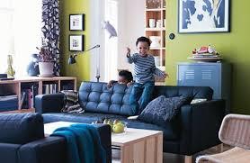 ikea wohnzimmer design grün hell dekomilch