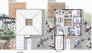 plan maison contemporaine plain pied 3 chambres maison ossature bois de plain pied 146 m 3 chambres