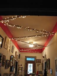 antique shop entryway lights and crown moulding