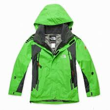 The North Face Children Jackets Green Kid Clothings