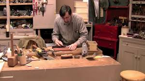paul sellers dovetail box part 4 of 4 setting hinges youtube