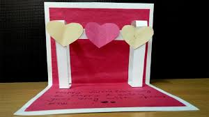 Valentines Day Pop Up Card
