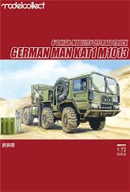 100 German Trucks MAN KAT1M1013 88 HIGHMobility Offroad Truck Model Collect
