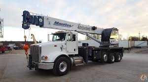 2018 Manitex 40124 SHL Boom Truck Crane For Sale In Solon Ohio On ...