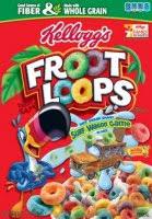 Kelloggs Froot Loops Cereal 122oz Box