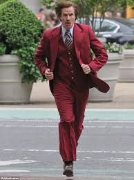Anchorman I Love Lamp Scene by Will Ferrell Leads The Way As His Battered And Bruised Anchorman 2