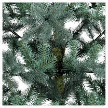 Balsam Christmas Tree Care by 5 5ft Unlit Artificial Christmas Tree Blue Green Balsam Fir