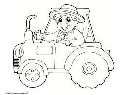 √ Coloriage De Tracteur Nouveau Coloriage Tracteur Remorque