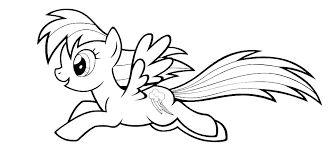 Princess Pony Coloring Pages My Little Page