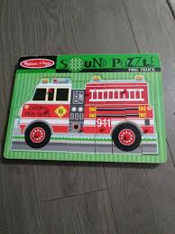 Find More Melissa & Doug Fire Truck Sound Puzzle For Sale At Up To ... Sound Puzzles Upc 0072076814 Mickey Fire Truck Station Set Upcitemdbcom Kelebihan Melissa Doug Around The Puzzle 736 On Sale And Trucks Ages Etsy 9 Pieces Multi 772003438 Chunky By 3721 Youtube Vehicles Soar Life Products Jigsaw In A Box Pinterest Small Knob Engine Single Replacement Piece Wooden Vehicle Around The Fire Station Sound Puzzle Fdny Shop