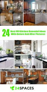 24 Best RV Kitchen Remodel Ideas With Before And After Pictures SPACES