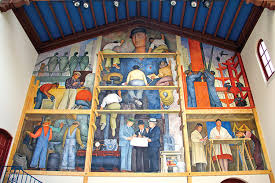 Diego Rivera Rockefeller Center Mural Controversy by Art The Mexico Of My Father Center For Latin American Studies