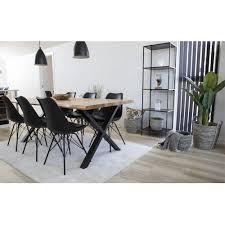 tony 6 1 esszimmergruppe tisch stühle schwarz set sitzgruppe esstisch esszimmer