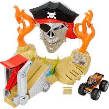 100 Hot Wheels Monster Truck Track Jam Pirate Takedown Play Set Walmartcom