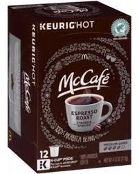 McCafe Espresso Roast Coffee K Cup Pods 12 Ct Box