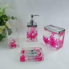 hot pink bathroom accessories macys tsc