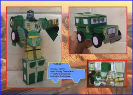 SARGE FROM DISNEY CARS IS A TRANSFORMER By Paperman2010