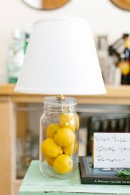 Small Fillable Glass Table Lamp by Friday Fill A Lamp Of Lemons Concord Lamp And Shade