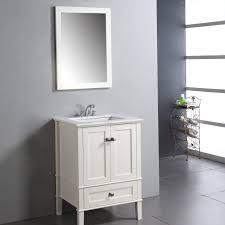 Narrow Depth Bathroom Vanity by Simpli Home Chelsea 24 In Single Bathroom Vanity Hayneedle
