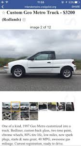 Geo Metro Ute Found On Craigslist : ATBGE Craigslist Inland Empire Motorcycles Parts Newmotwallorg Fresno Cars Top Car Release 2019 20 A Datsun Truck With Skyline Tricks Speedhunters Wyoming Trucks Dodge Ie Best Image Kusaboshicom Ny Amp By Owner Atlanta And By 1920 New Specs Buy Volkswagen Vw Rabbit Pickup For Sale In North Carolina Los Angeles N Ownertrucks Only Mesa In