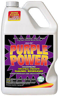 Purple Power 4320C Industrial Strength Cleaner and Degreaser - 1 Gallon, 6pk