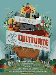 Cultivate Festival Poster By Invisible Creature