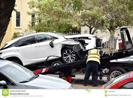 100 Tow Truck Driver Requirements Car Tow Editorial Stock Photo Image Of Wrecked Automobile 103444593