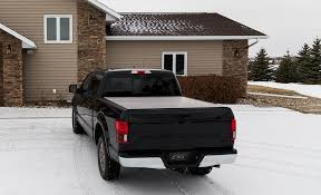 100 Waterproof Truck Bed Covers LOMAX Hard Tri Fold Tonneau Cover Folding Cover