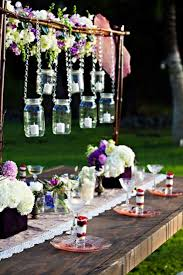 Decorative Hanging Wedding Lights 35 Thrifty Mason Jar Centerpieces