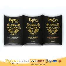 Malaysia 100 Genuine Arabica Civet Coffee Bean Kopi Luwak Combo Pack 10g