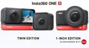 تطلق شركة إنستا الكاميرا الجديدة insta360 one r التجربة