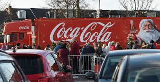 100 Coke Truck The Cola Truck At The Tesco In Sutton Coldfield Birmingham Live