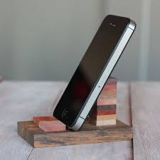 Make Your Own Classy Wooden Cell Phone Stand Quick And Easy Project