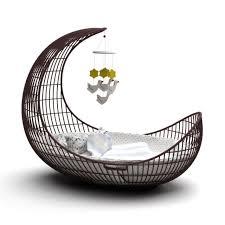 Baby bed 33 AM119 Archmodels max c4d obj fbx 3D model