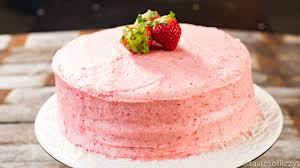 Homemade Strawberry Cake Recipe From Scratch Cake Using Fresh Strawberries