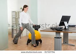 Pilates Ball Chair South Africa by Office Exercise Stock Images Royalty Free Images U0026 Vectors