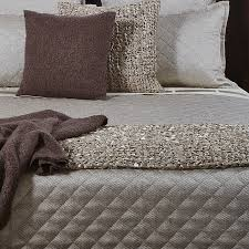 raffia coverlet set taupe ann gish bedding king or queen size
