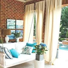 Pottery Barn Outdoor Curtains by Outdoor Draperies Curtains Outdoor Drapes Sunbrella Outdoor Drapes